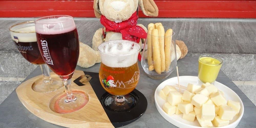 Disfruta de la comida y la cerveza belga en alguno de los mejores restaurantes