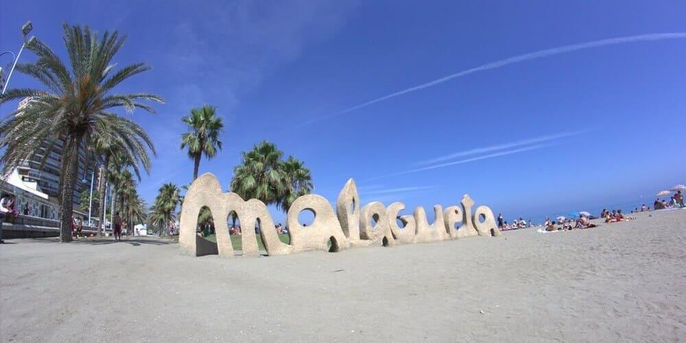 Donde dormir en Málaga barato - alrededores de la Playa Malagueta