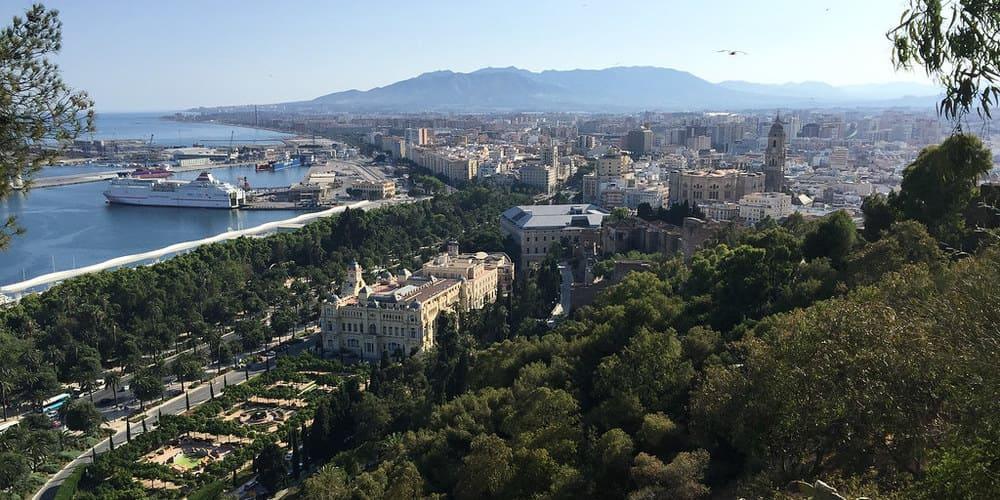 Castillo de Gibralfaro - un imprescindible para el fin de semana en Málaga