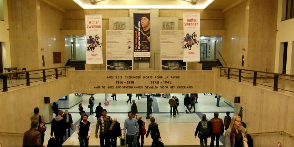 Estación Central de Bruselas: horarios y servicios