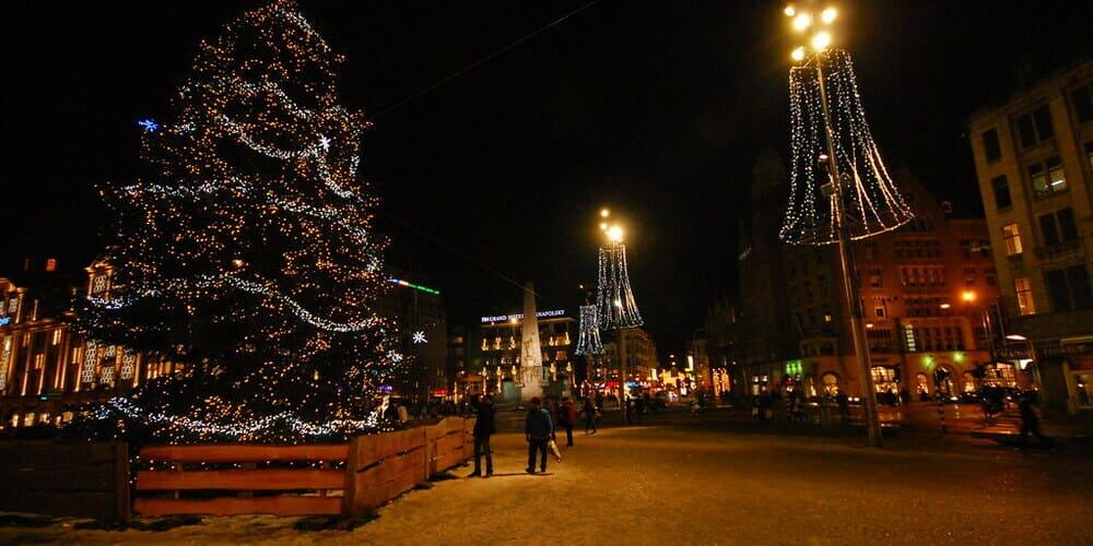 Fiestas de la nochevieja en la capital de Países Bajos
