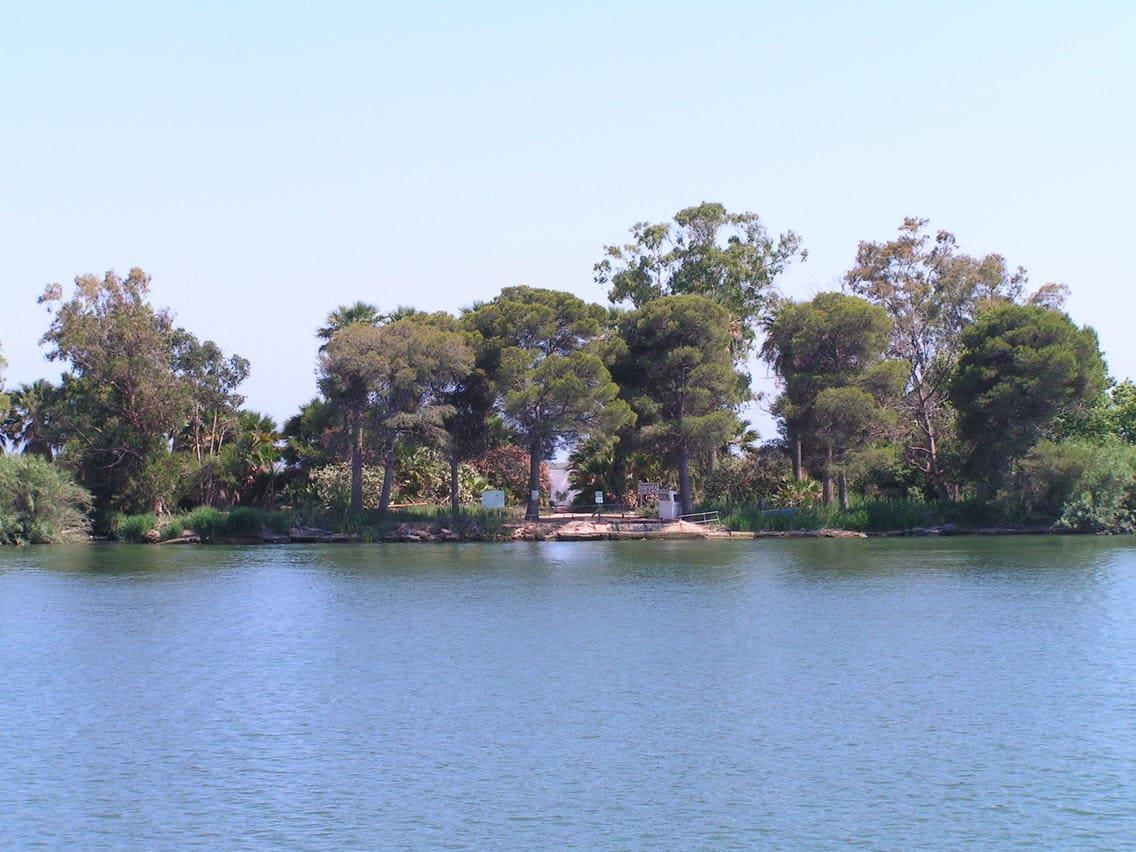 Isla de Buda en el Delta del Ebro