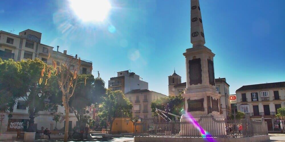 La Plaza de la Merced, un monumentos imprescindible
