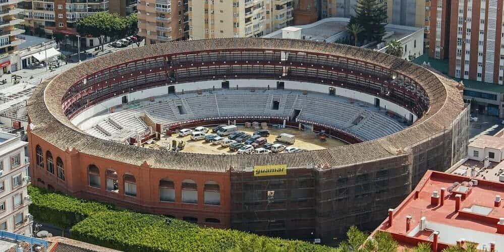Monumentos de Málaga: La Plaza de Toros
