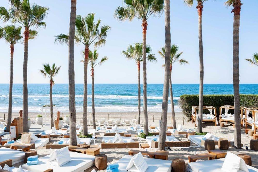 Uno de los club de playa más exclusivos del mundo en Marbella