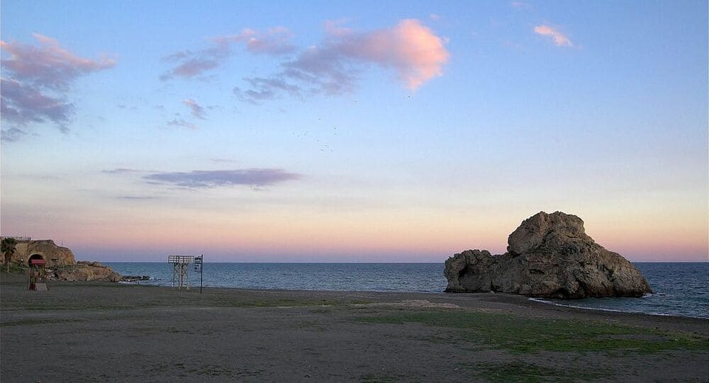Cala del Cuervo para bucear en Cabo de Gata