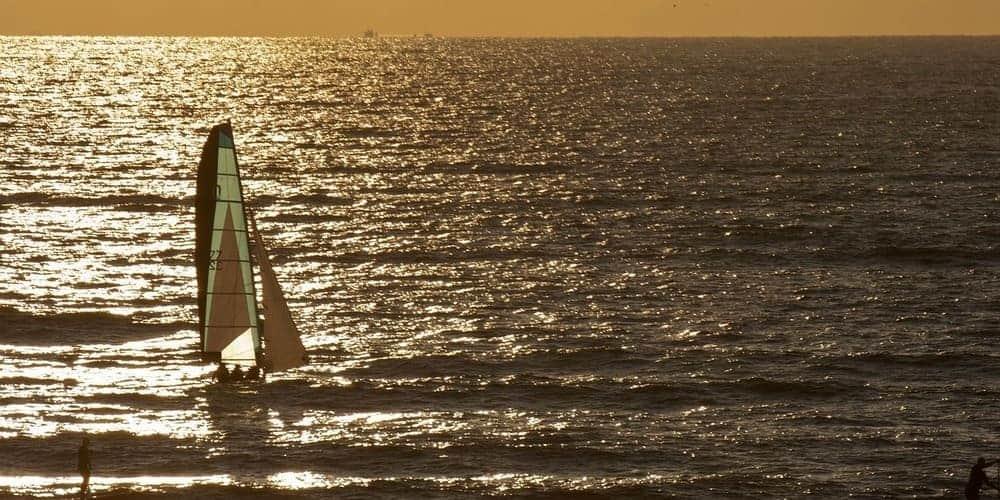 Playa Bloemendaal en los Países Bajos