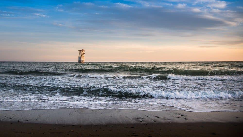 La playa del Cable