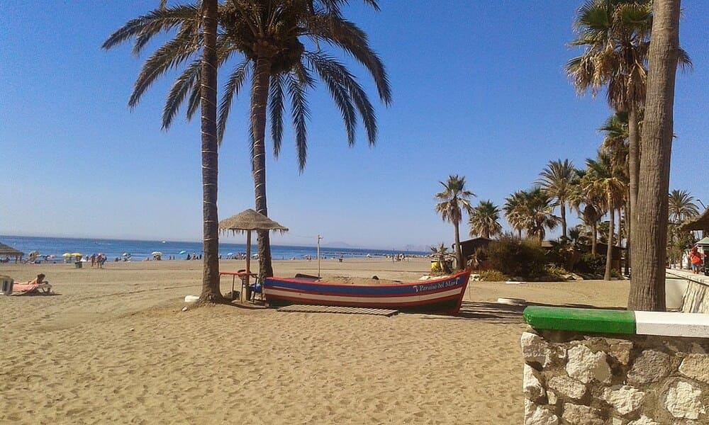 Playa de la Rada en Estepona