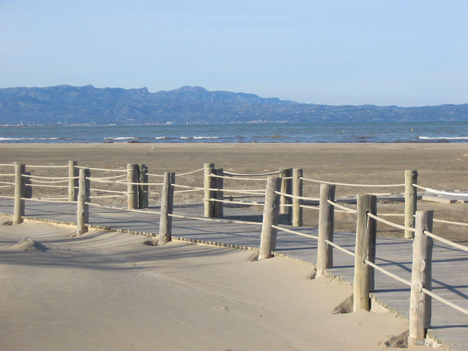 Playa de Ruimar en el Delta del Ebro para ir con perros