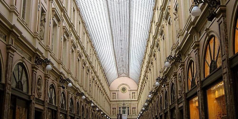 Galerías Saint Hubert del centro de Bruselas