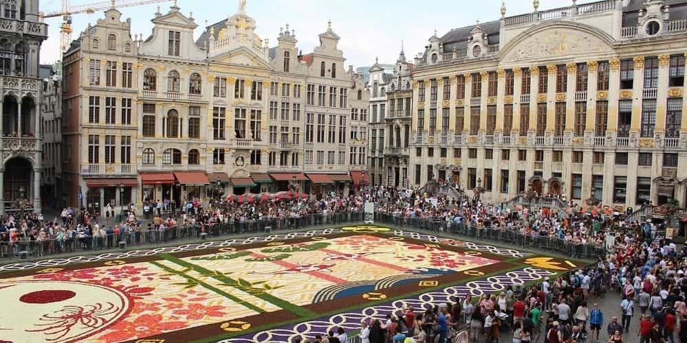 La Grand Place, el mayor atractivo del centro de Bruselas