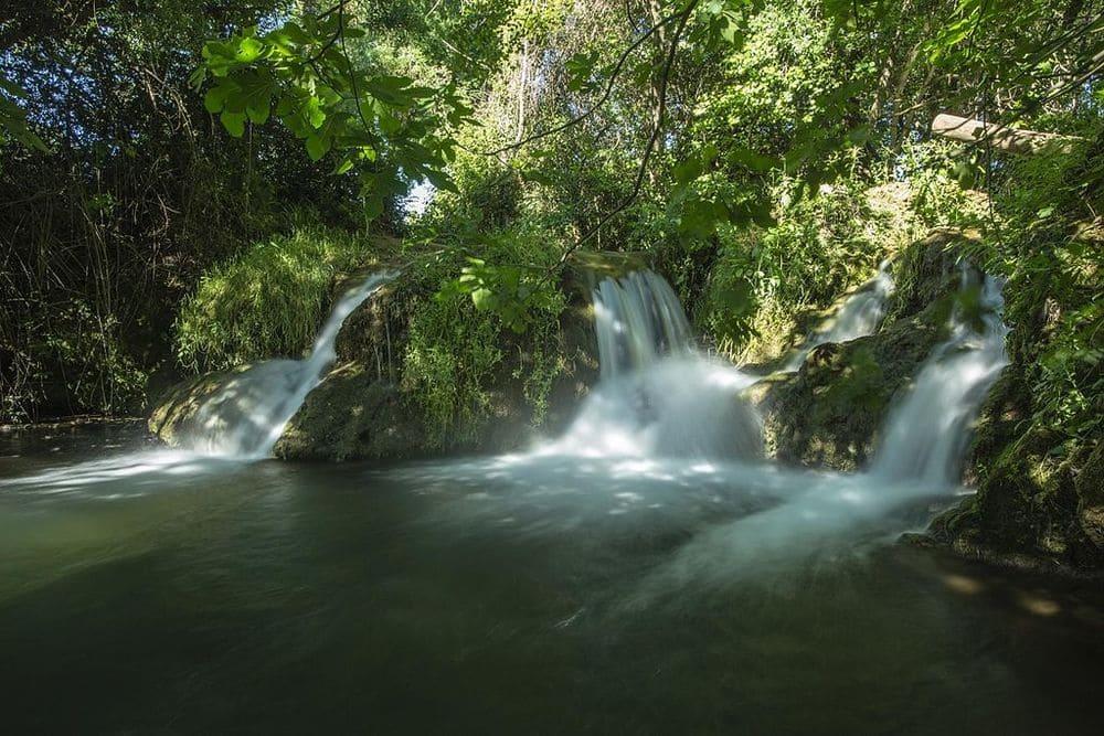 Cascadas de la sierra norte de Sevilla
