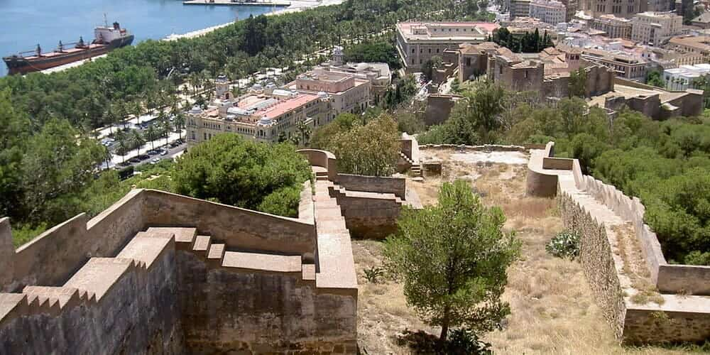 Sitios para visitar en Málaga - El Castillo de Gibralfaro