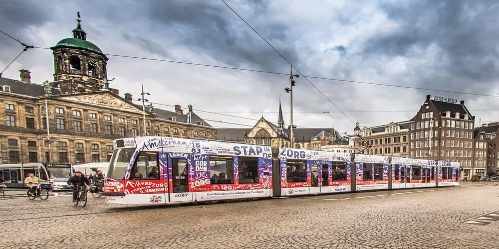 Tranvía de Amsterdam