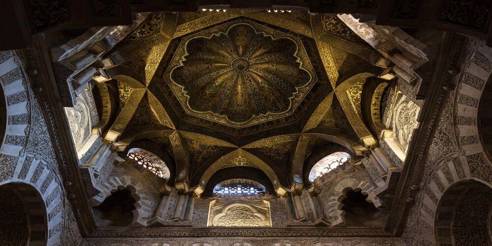 Interior de la Mezquita de Córdoba