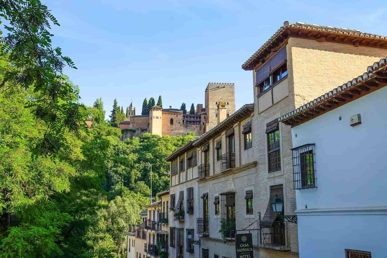 Dónde dormir en Granada – hoteles baratos y mejores zonas