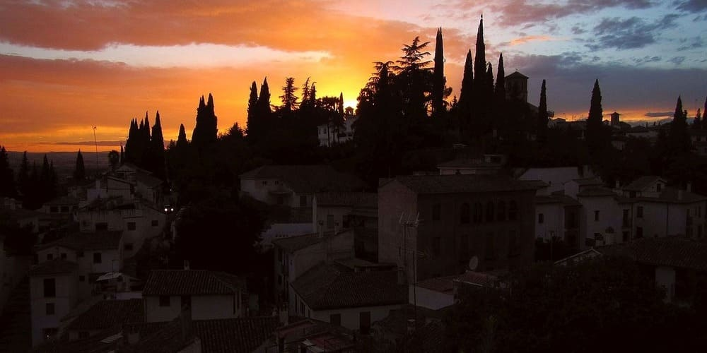 Vistas desde el Mirador de la Alhambra