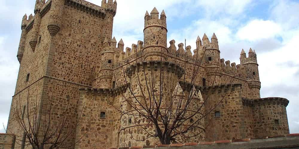 Castillo de Guardamur en Toledo