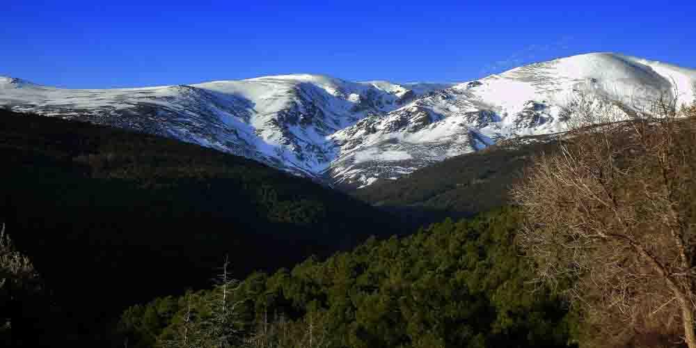 La Sierra Nevada de la provincia de Granada