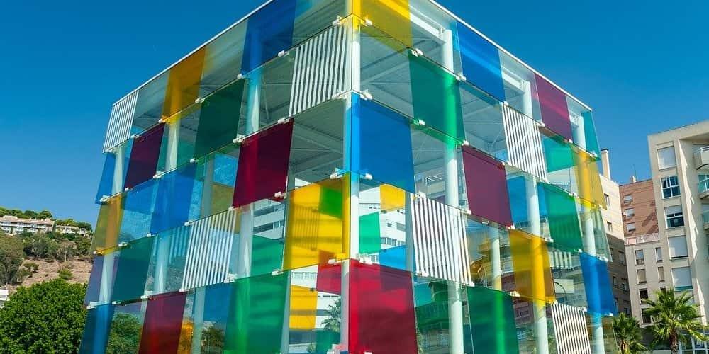 El Centro Pompidou es uno de los museos principales de Málaga