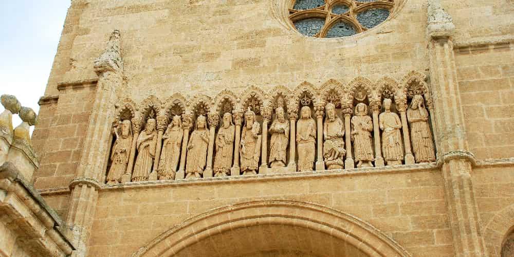 Exterior de la Catedral salmantina