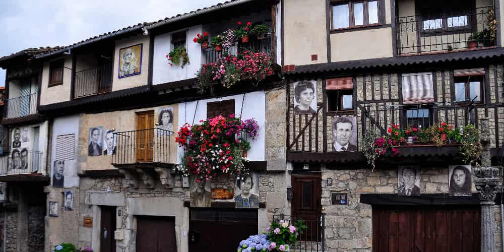 Mogarraz es uno de los pueblos más bonitos que ver en Salamanca