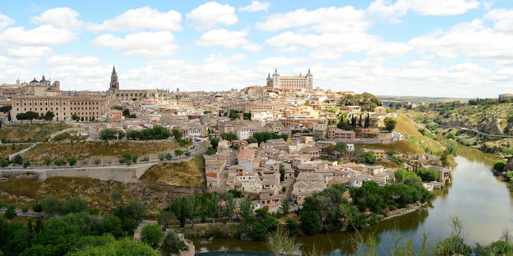 Vistas de Toledo desde el Mirador del Valle