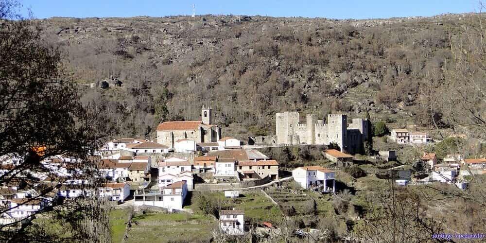 Castillo de Montemayor del Río, uno de los castillos de Salamanca más famosos
