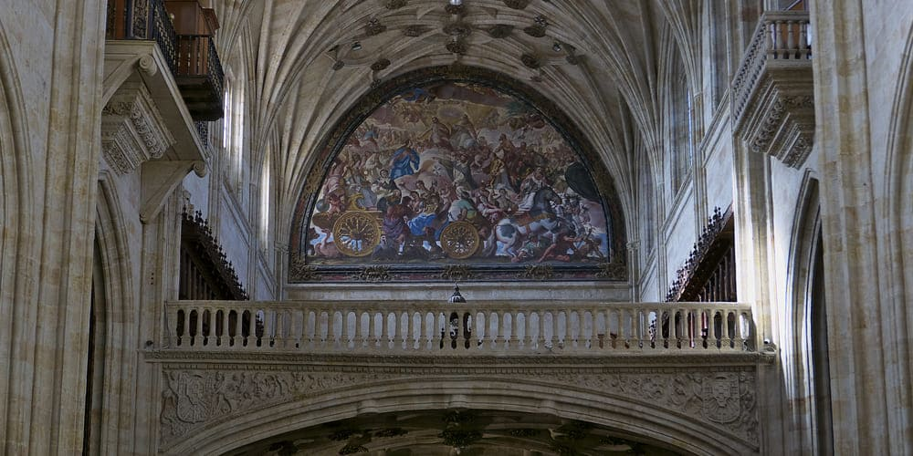 Interior del Convento de San Esteban de Salamanca