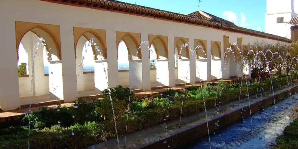 Jardines y fuentes de El Generalife