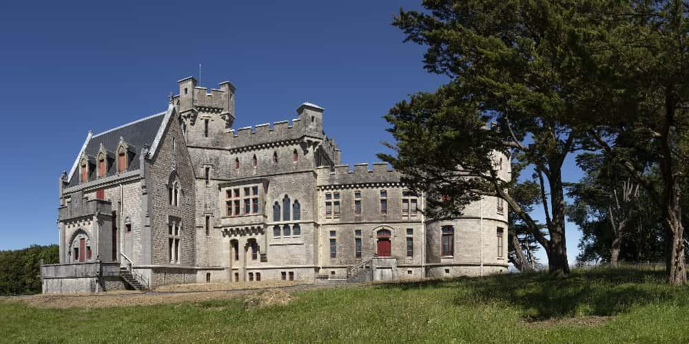 Castillo de la Abadía en Hendaya