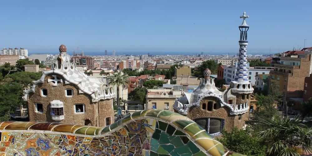 Vista de Barcelona desde el Parque Guell