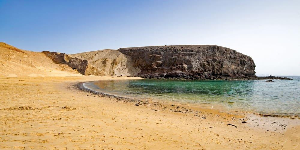 La punta del Papagayo es una de las cosas que ver en Lanzarote