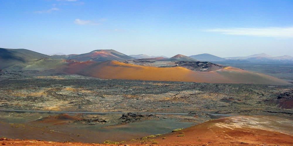 El Parque Natural del Timanfaya es un lugar único en el mundo