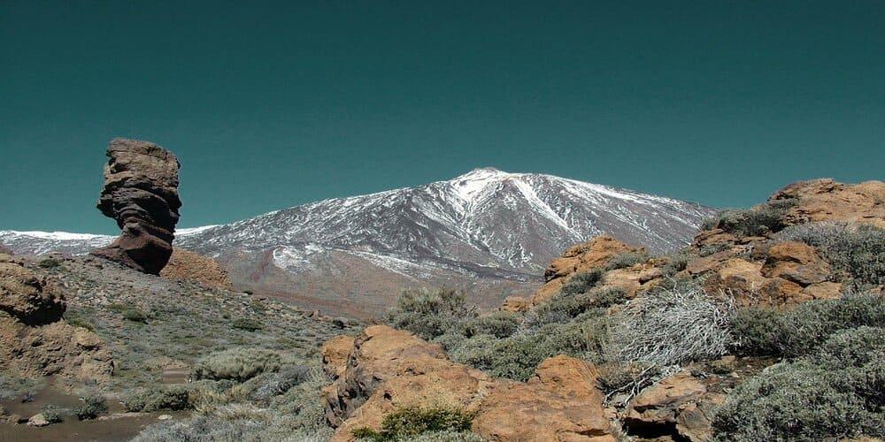 El Teide es el punto más alto de todo el territorio español