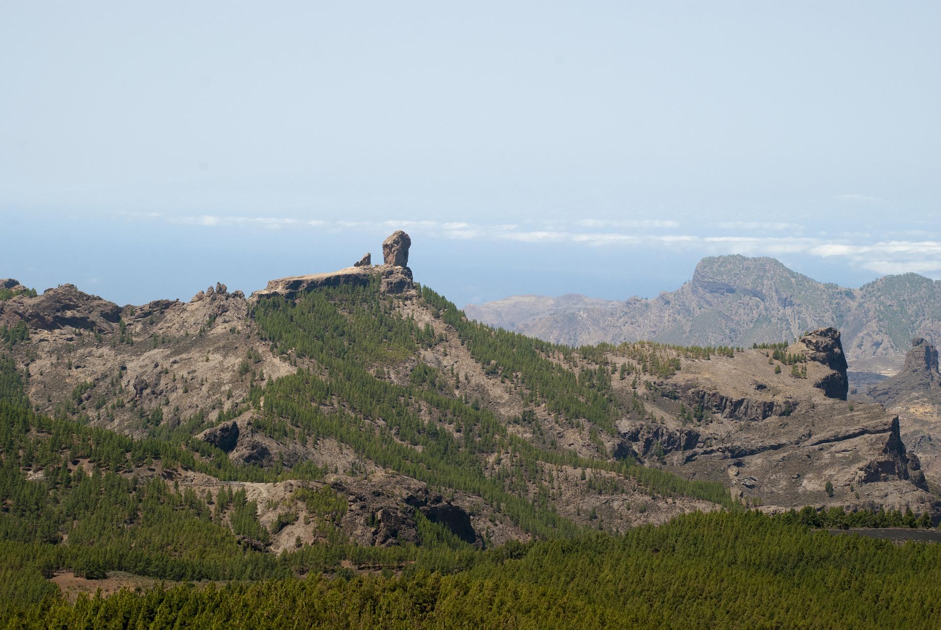 El monumento natural de Rorque Nublo de Gran Canaria.