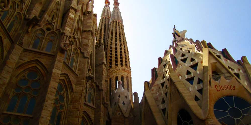 Exterior de la Sagrada Familia