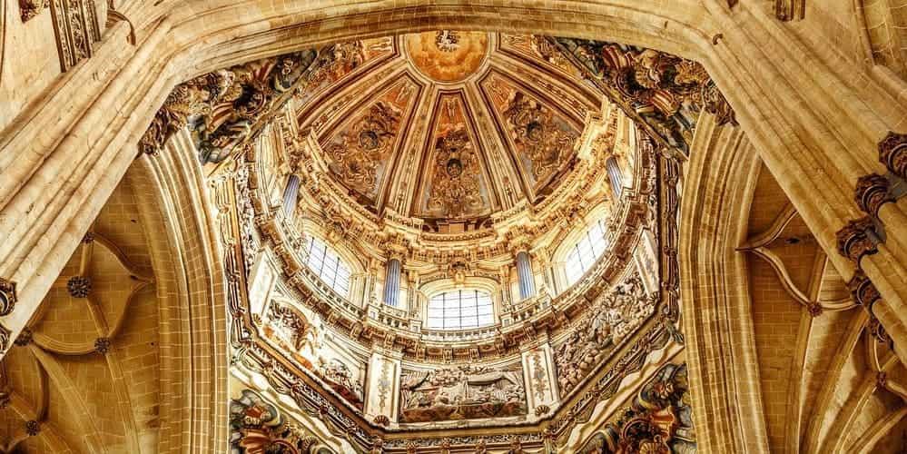Cúpula del interior de la Catedral de Salamanca