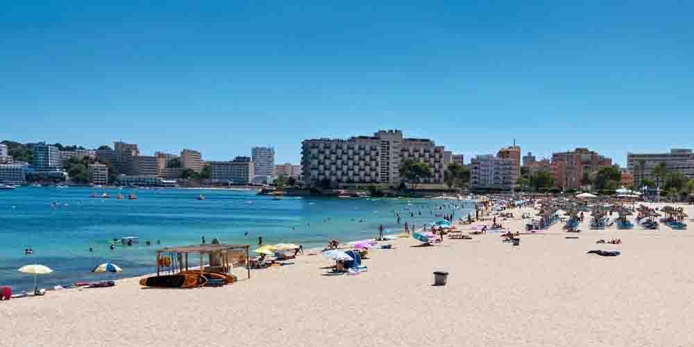 ¿Dónde dormir en la Bahía de Palma? Hoteles en Palmanova.