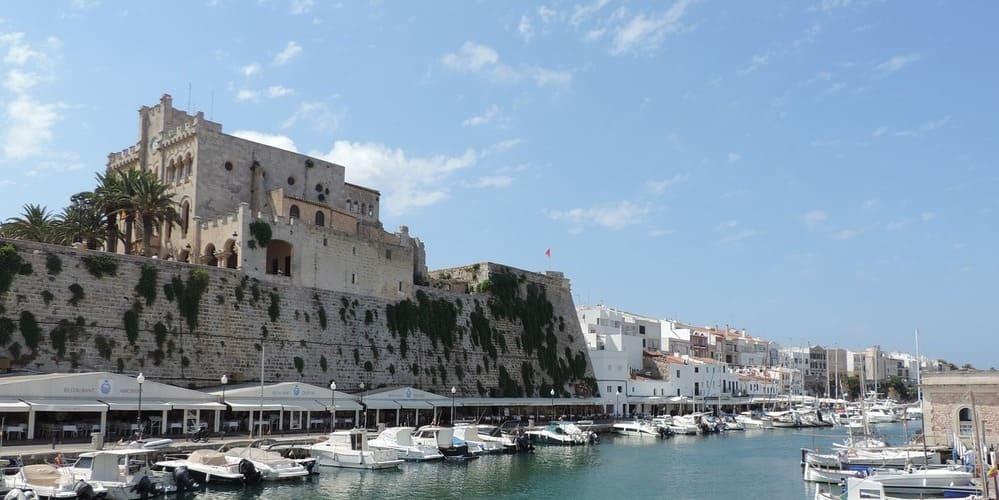 Ciudadela, la antigua capital de Menorca