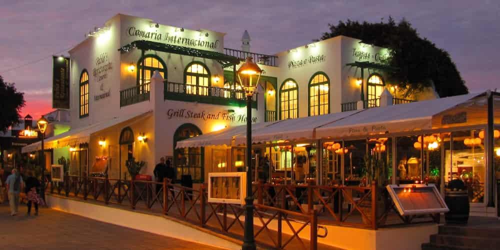 Restaurante en Lanzarote