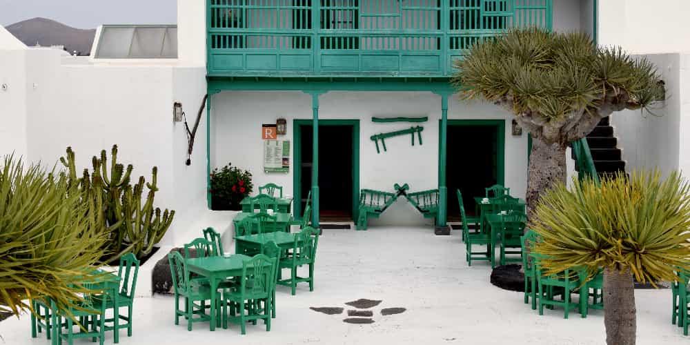 Local típico de la Isla Canaria