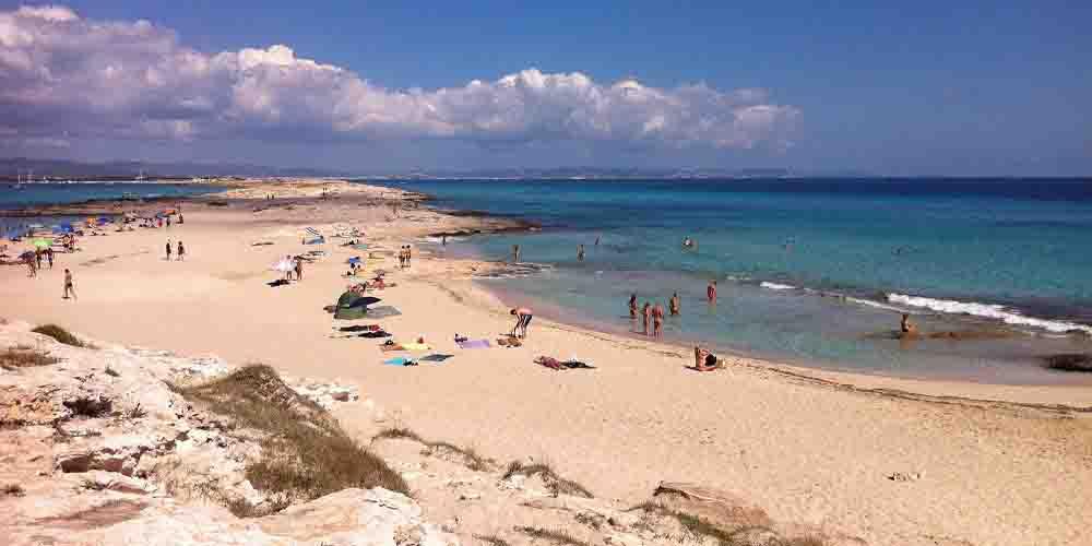 Las mejores playas de Ses Illetes en Formentera.