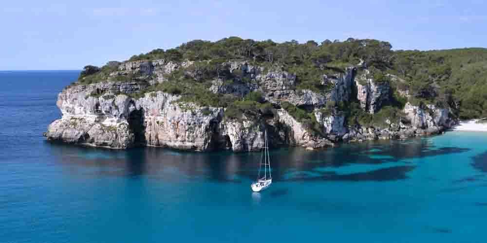 Cala Saona en la Isla de Formentera.