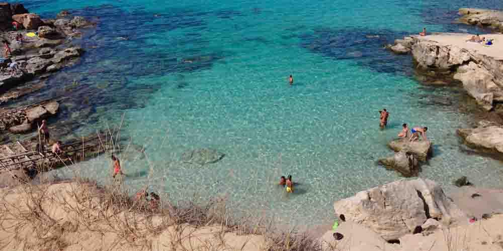 Calço Des Mort, una de las mejores calas de Formentera.