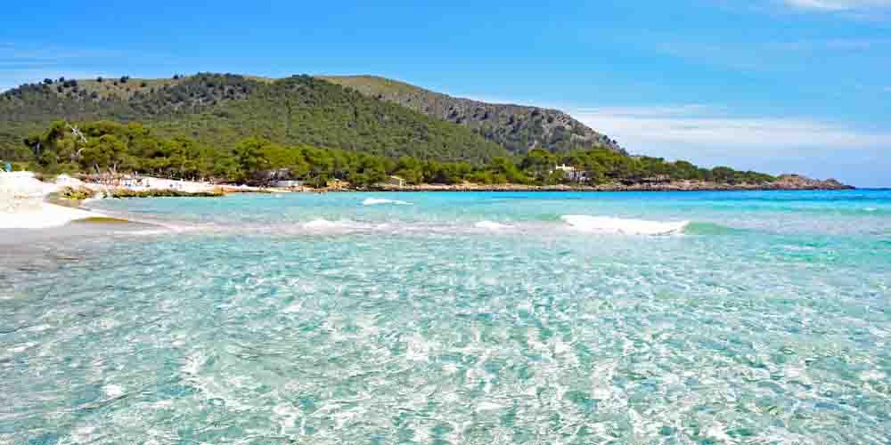 Playa de Agulla en Mallorca.