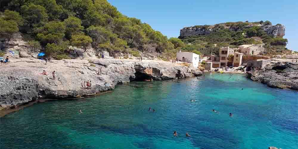 Caló Des Moro y Cala S'Almunia en Mallorca