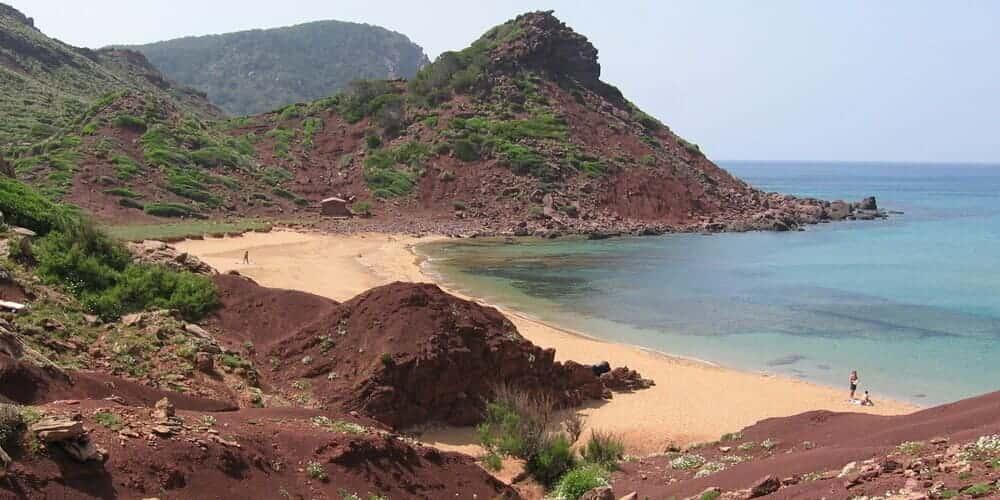 Cala Pilar, practica snorkel en Menorca