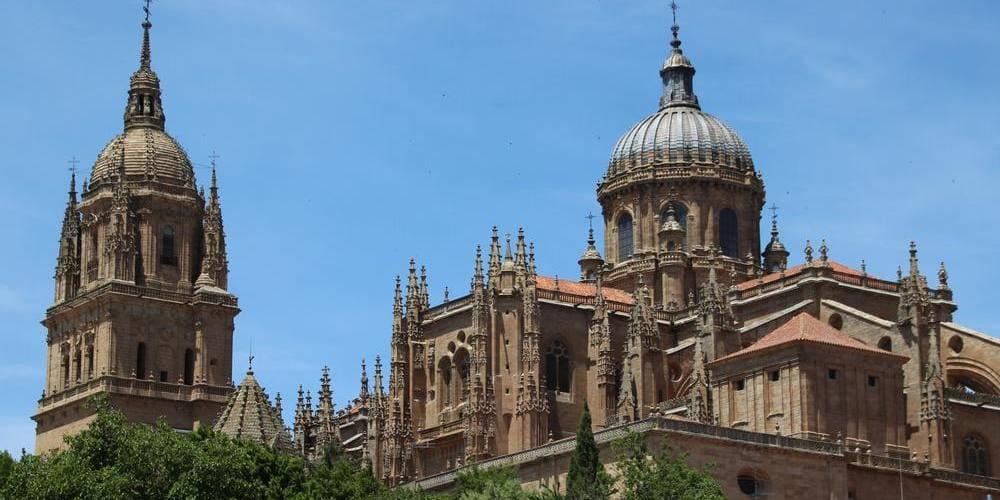 La catedral, uno de los monumentos de Salamanca más famosos